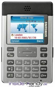 Samsung SGH-P300 Datenblatt - Foto des Samsung SGH-P300