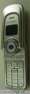 Samsung SGHP730 - aufgeklappt