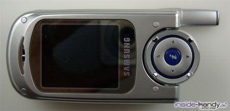 Samsung SGHP730 - Display zugeklappt
