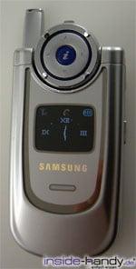 Samsung SGHP730 - Draufsicht