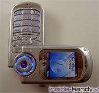 Samsung SGHP730 - halb aufgeklappt