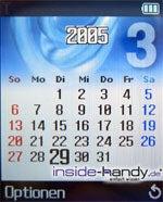 Samsung SGHP730 - Kalender