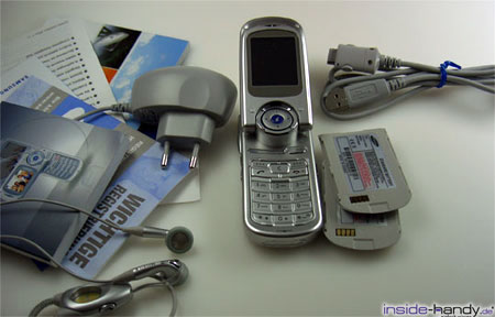 Samsung SGHP730 - Lieferumfang