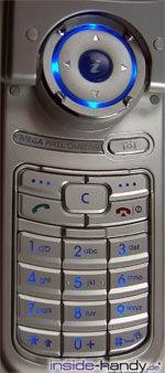 Samsung SGHP730 - Tastatur