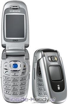 Samsung SGH-S342i Datenblatt - Foto des Samsung SGH-S342i