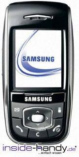 Samsung SGH-S400i Datenblatt - Foto des Samsung SGH-S400i
