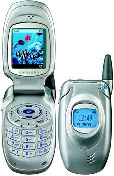 Samsung SGH-T100 Datenblatt - Foto des Samsung SGH-T100