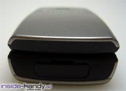 Samsung SGH-X200 - Anschlüsse von unten