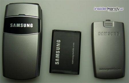 Samsung SGH-X200 - auseinander von Vorne