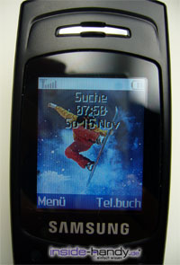 Samsung SGH-X200 - Display