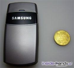 Samsung SGH-X200 - Größe