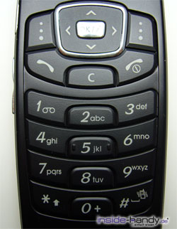 Samsung SGH-X200 - Tastatur