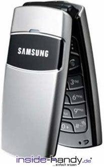 Samsung SGH-X200 Datenblatt - Foto des Samsung SGH-X200