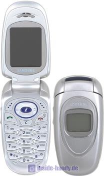 Samsung SGH-X460 Datenblatt - Foto des Samsung SGH-X460