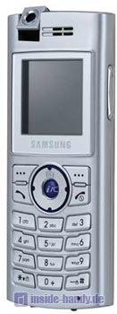 Samsung SGH-X610 Datenblatt - Foto des Samsung SGH-X610