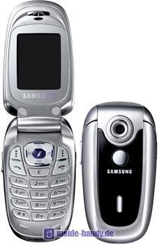 Samsung SGH-X640 Datenblatt - Foto des Samsung SGH-X640