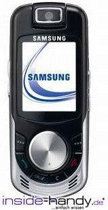 Samsung SGH-X810 Datenblatt - Foto des Samsung SGH-X810