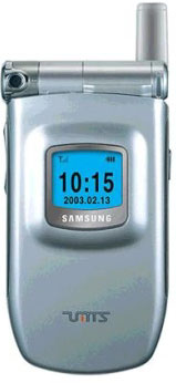 Samsung SGH-Z100 Datenblatt - Foto des Samsung SGH-Z100