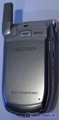 Samsung SGH-Z105 : Rückseite