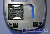 Samsung SGH-Z105 : Sim Kartenhalter