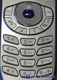Samsung SGH-Z105 : Tastatur