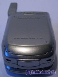 Samsung SGH-Z105 :  Unterseite