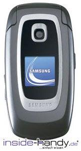Samsung SGH-Z330 Datenblatt - Foto des Samsung SGH-Z330