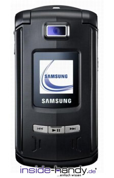 Samsung SGH-Z540 Datenblatt - Foto des Samsung SGH-Z540