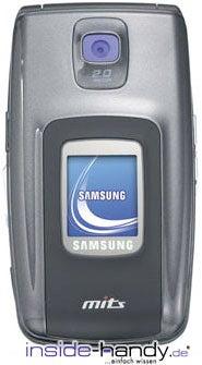 Samsung SGH-Z600 Datenblatt - Foto des Samsung SGH-Z600