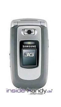 Samsung SGH-ZV30 Datenblatt - Foto des Samsung SGH-ZV30