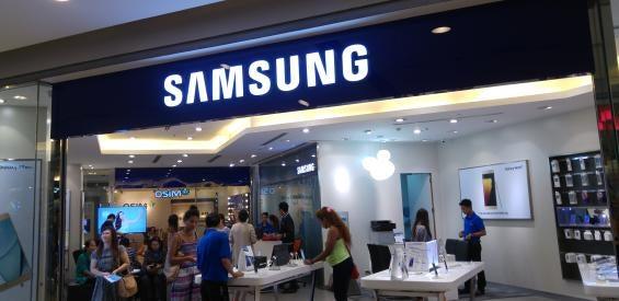 Samsung Store in Bangkok