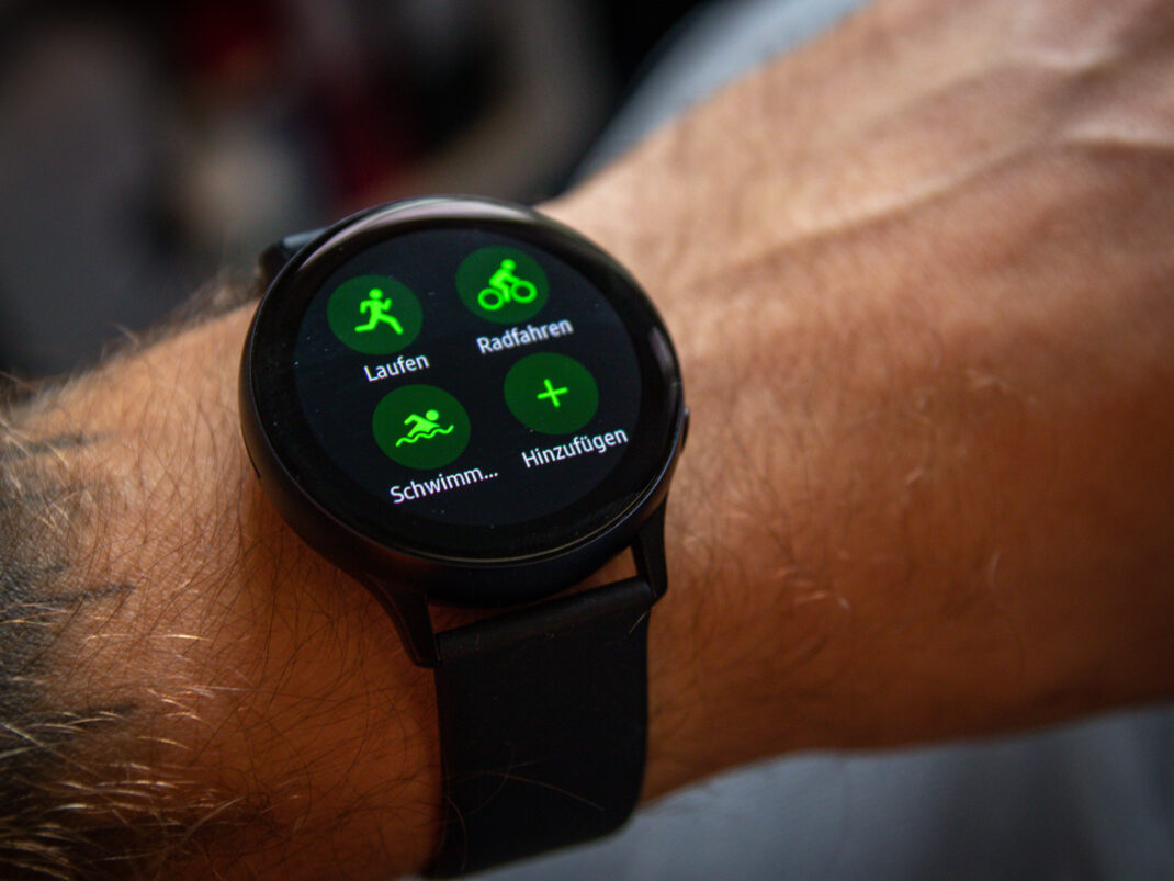 Samsung Galaxy Watch Active 2 Sportmodi