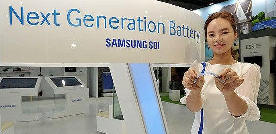 Samsung zeigt neue Generation an Akkus für Wearables
