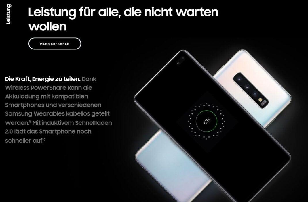 Samsung-Werbung