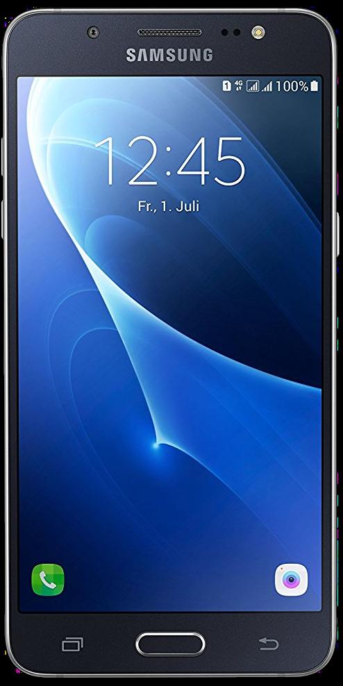 Samsung Galaxy J5 (2016) Schwarz Front