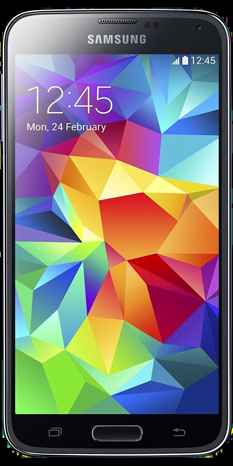 Samsung Galaxy S5 Schwarz Front