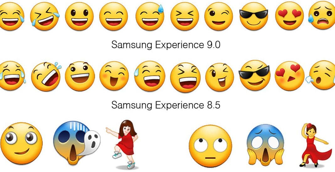Samsungs neue Emojis