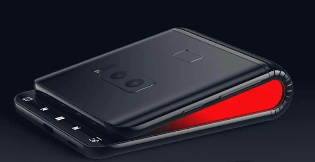 Samsung Galaxy Konzept faltbares Smartphone Galaxy F