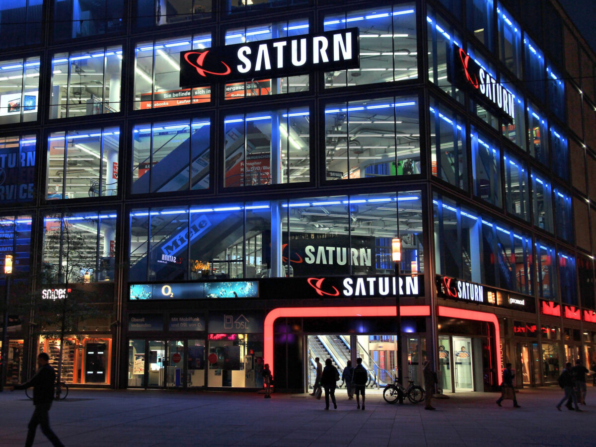 Saturn-Filiale in Berlin am Alexanderplatz