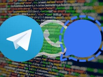 Schlimmer als WhatsApp? Das wissen Signal und Telegram über dich