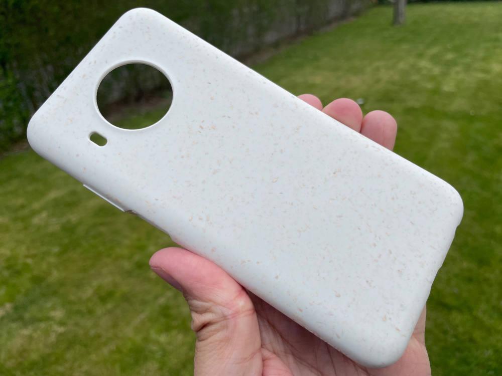 100 Prozent kompostierbare Schutzhülle für das Nokia X20.