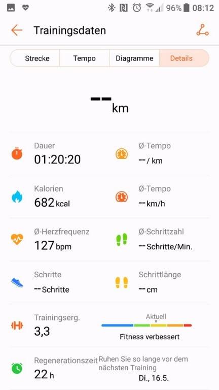Huawei Watch 2 im Test: Tracken, Schwitzen, Nerven