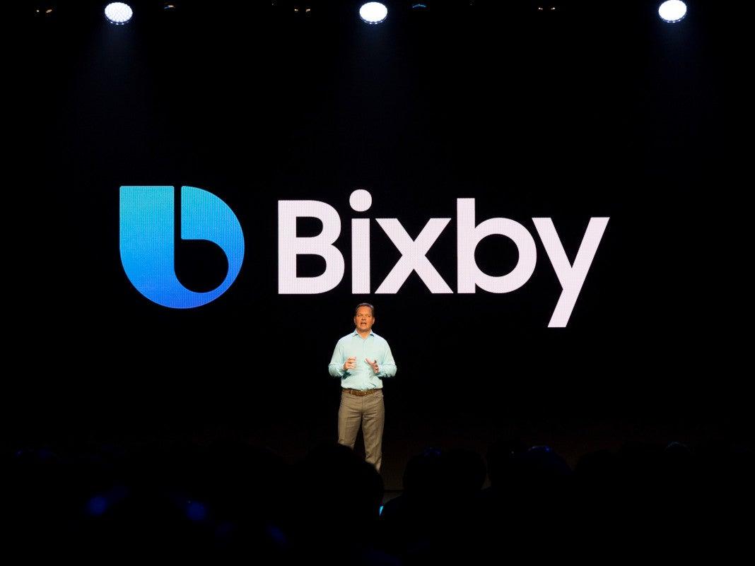 Bixby-Präsentation auf der SDC18