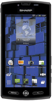 Sharp Aquos Phone SH-80F Datenblatt - Foto des Sharp Aquos Phone SH-80F
