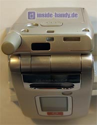 Sharp GX30 Oberseite - Infrarot Schnittstelle