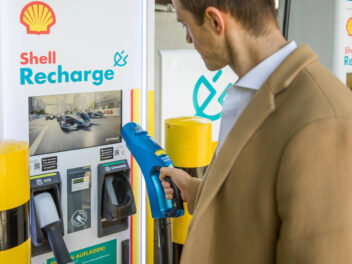 Shell Recharge Ladestation