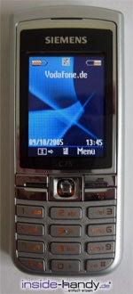 Siemens C75 - Front