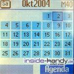 Siemens CF62 - Kalender