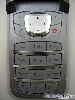 Siemens CF62 - Tastatur