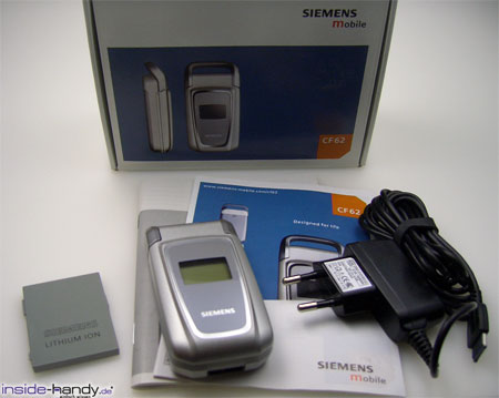 Siemens CF62 - Verpackung und Lieferumfang